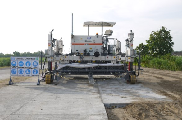 Peralatan Pembuatan Jalan Beton